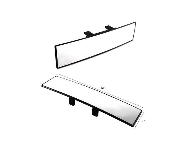 JDM AA2005 300mm Wide Curve Interior Clip On Car Rearview Mirror