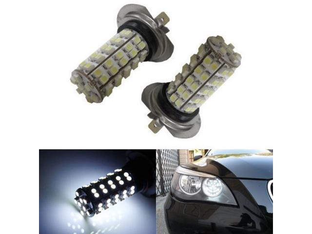 iJDMTOY 68-SMD H7 LED Daytime Running or Fog Light Bulbs, Xenon White