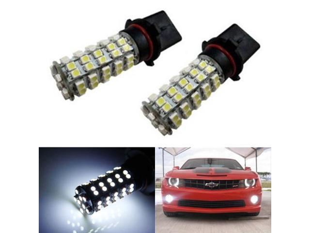 iJDMTOY 68-SMD P13W LED Fog Lights/DRL Replacement Bulbs, Xenon White