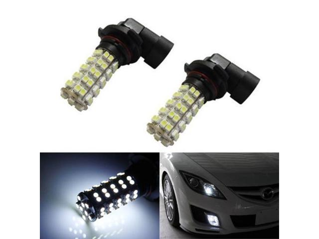 iJDMTOY 68-SMD 9006 LED Fog Light Replacement Bulbs, Xenon White