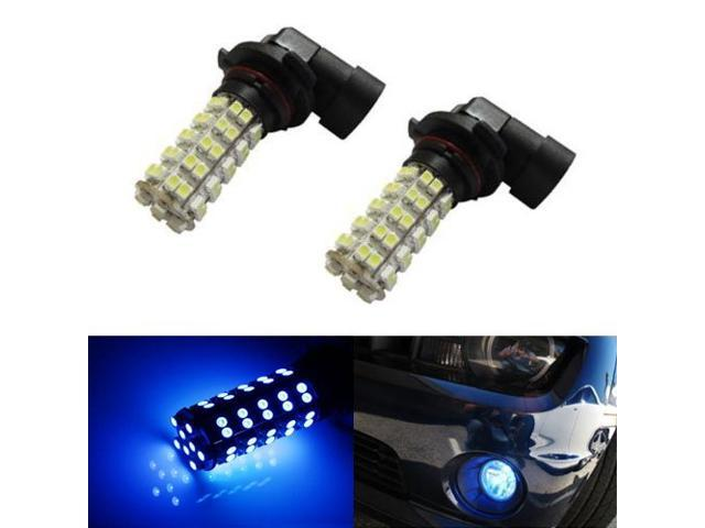 iJDMTOY 68-SMD 9006 LED Fog Light Replacement Bulbs, Ultra Blue