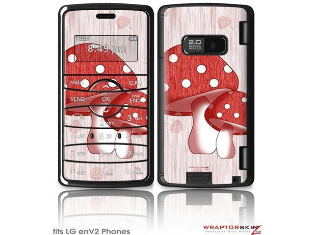 LG enV2 Decal Style Skin - Mushrooms