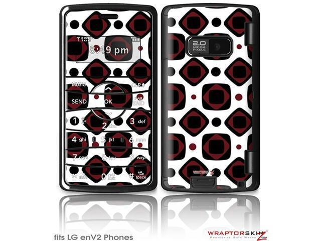 LG enV2 Decal Style Skin - And Squared