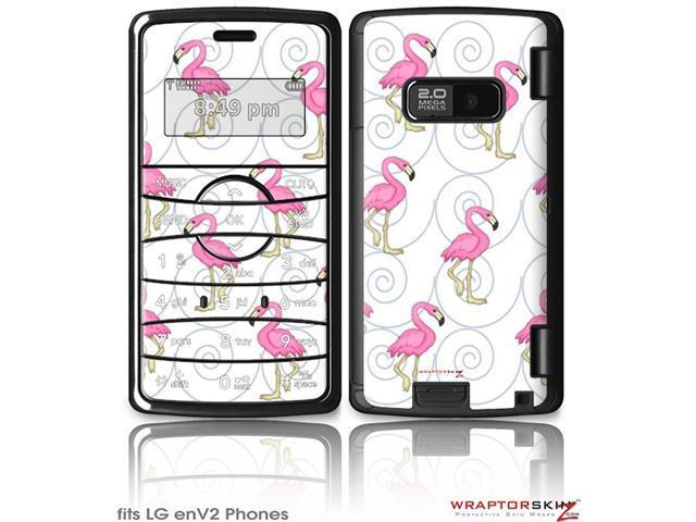 LG enV2 Decal Style Skin - Flamingos