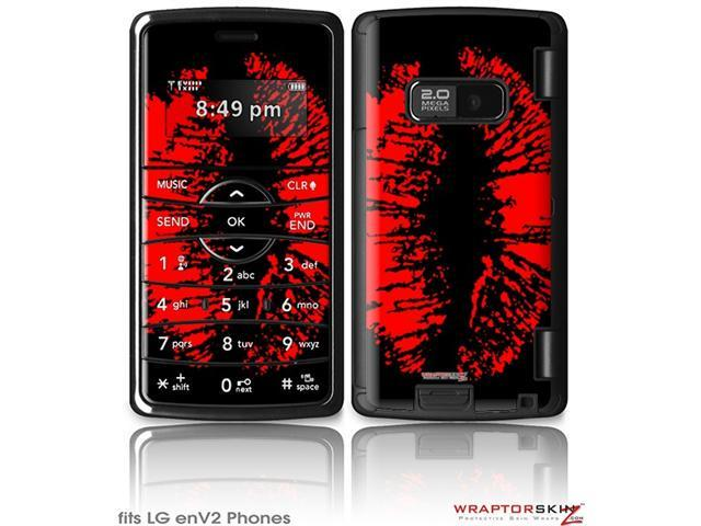 LG enV2 Decal Style Skin - Big Kiss