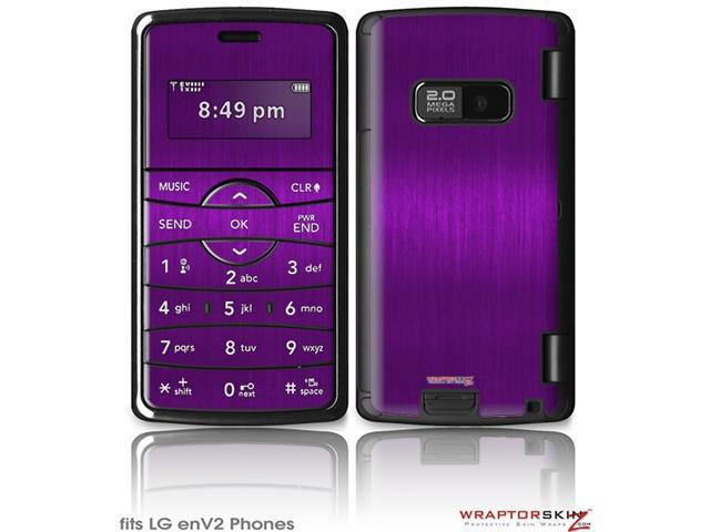 LG enV2 Decal Style Skin - Brushed Metal