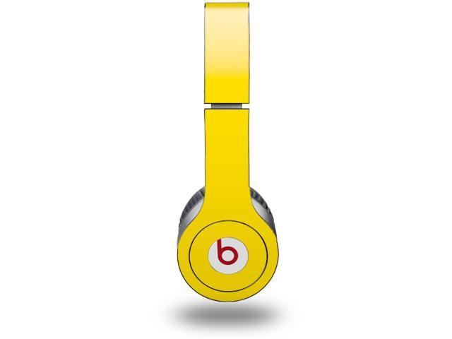 Solids Collection Yellow Decal Style Skin (fits genuine Beats Solo HD Headphones - HEADPHONES NOT INCLUDED)