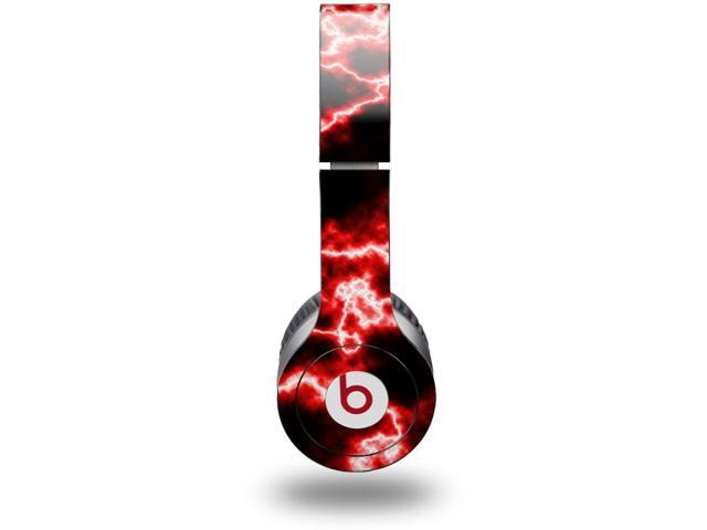 Electrify Red Decal Style Skin (fits genuine Beats Solo HD Headphones - HEADPHONES NOT INCLUDED)