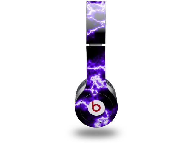 Electrify Purple Decal Style Skin (fits genuine Beats Solo HD Headphones - HEADPHONES NOT INCLUDED)