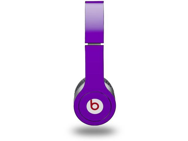 Solids Collection Purple Decal Style Skin (fits genuine Beats Solo HD Headphones - HEADPHONES NOT INCLUDED)