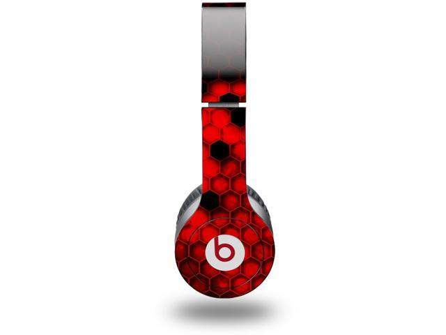 HEX Red Decal Style Decal Style Skin (fits genuine Beats Solo HD Headphones - HEADPHONES NOT INCLUDED)