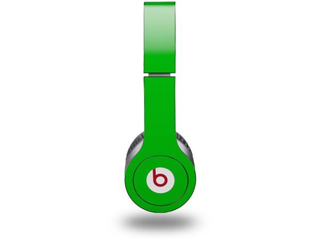 Solids Collection Green Decal Style Skin (fits genuine Beats Solo HD Headphones - HEADPHONES NOT INCLUDED)