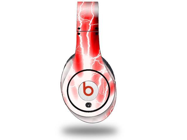 Lightning Red Decal Style Skin (fits genuine Beats Studio Headphones - HEADPHONES NOT INCLUDED)