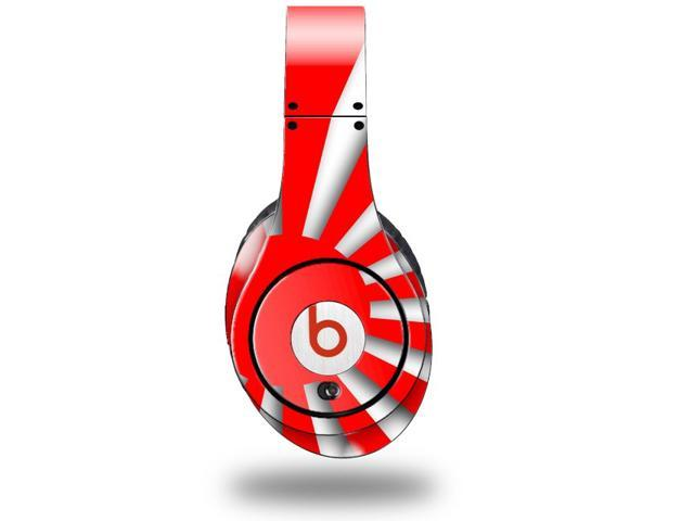 Rising Sun Japanese Flag Red Decal Style Skin (fits genuine Beats Studio Headphones - HEADPHONES NOT INCLUDED)