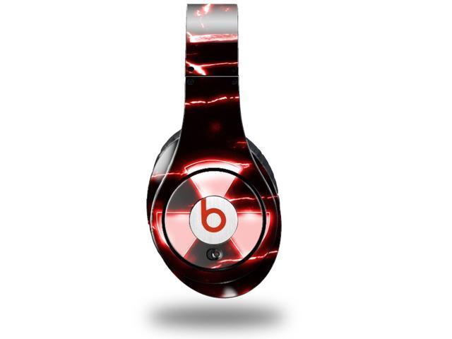 Radioactive Red Decal Style Skin (fits genuine Beats Studio Headphones - HEADPHONES NOT INCLUDED)