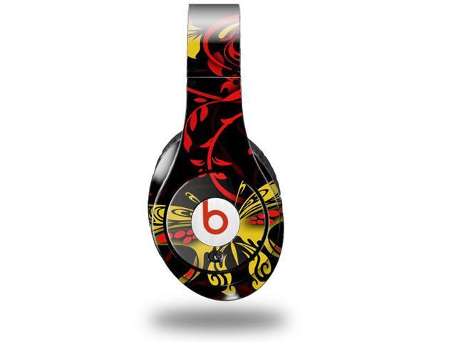 Twisted Garden Red and Yellow Decal Style Skin (fits genuine Beats Studio Headphones - HEADPHONES NOT INCLUDED)