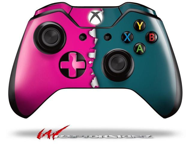 Foyer Colors Xbox One : Ripped colors hot pink seafoam green decal style skin