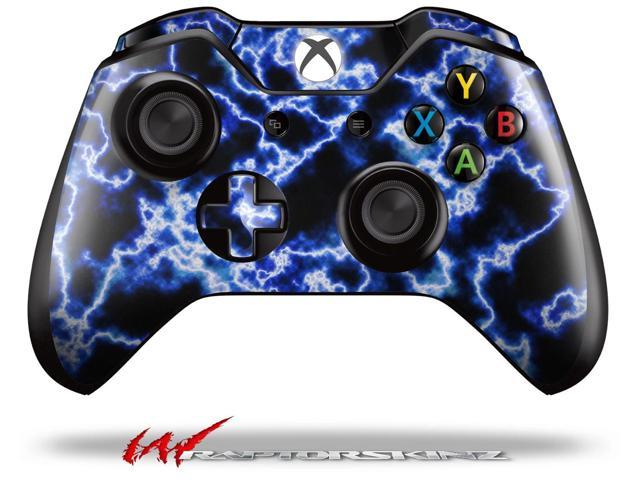 Electrify Blue - Decal Style Skin fits Microsoft XBOX One Wireless Controller - CONTROLLER NOT INCLUDED