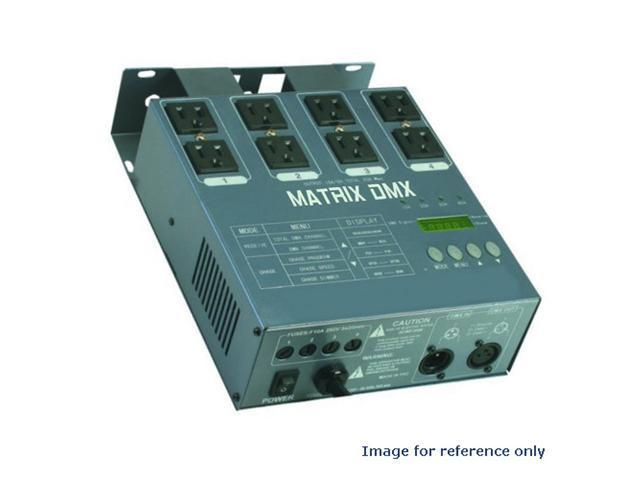 MATRIX DMX 4 Channel Relay Double Output DMX Dimmer Pack