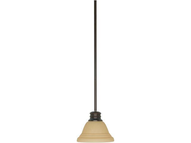 Nuvo Empire ES - 1 Light 7 inch Mini Pendant w/ Champagne Glass - (1) 13w GU24 Lamps Incl.