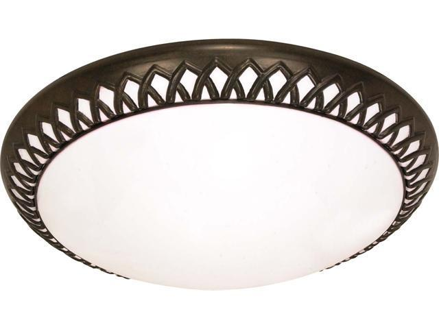 Nuvo Rustica - 3 Light Cfl - 27 inch - Flush Mount - (3) 18w GU24 Lamps Included