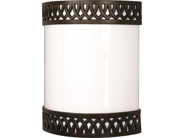 Nuvo Rustica - 1 Light Cfl - 9 inch - Wall Fixture - (1) 18W GU24 Lamps Included