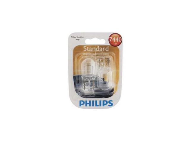 Philips  7440 - 25w Standard Clear Automotive Light - 2 Bulbs / Pack