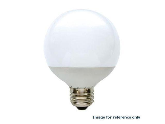 GE 2.3W 120V G25 White 3000k LED Energy Smart Light Bulb
