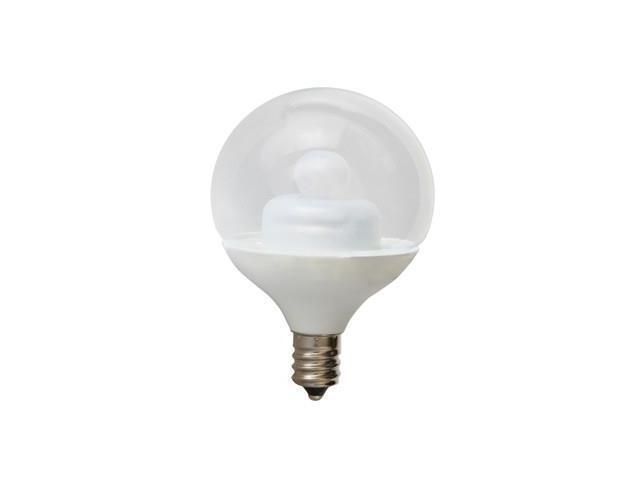 GE LIGHTING LED2G16C-ES/C/TP LED Light Bulb,G16.5,3000K,Warm