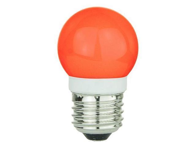 SUNLITE 1w G16 19LED, Red Medium Base Bulb