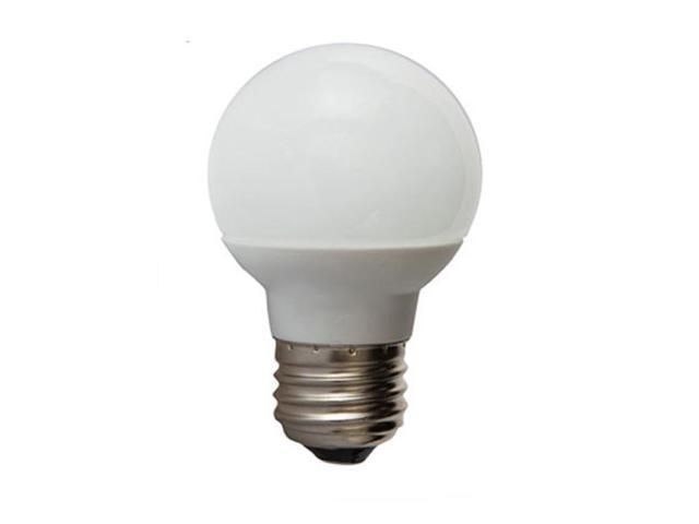 GE 1.8W 120V E26 Screw Base G16.5 LED Light Bulb