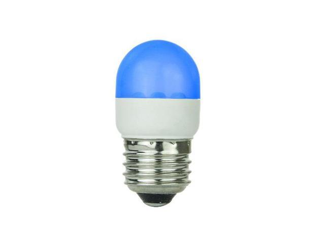 SUNLITE Blue 0.5w Tubular T10 Medium Screw In Base Light Bulb