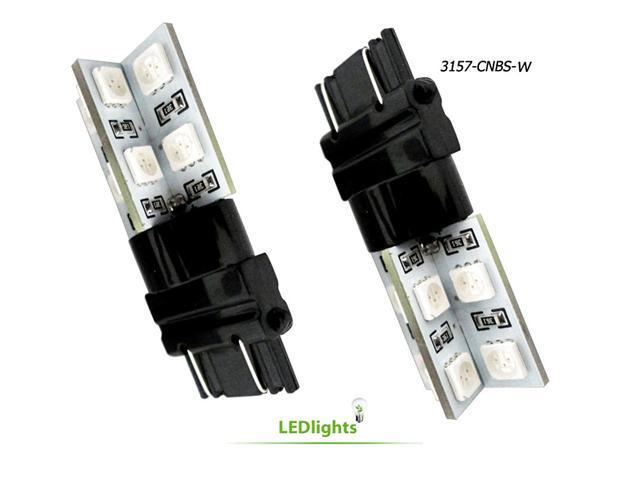 3157 White LED Lights Brake/Park/Signal CanBus