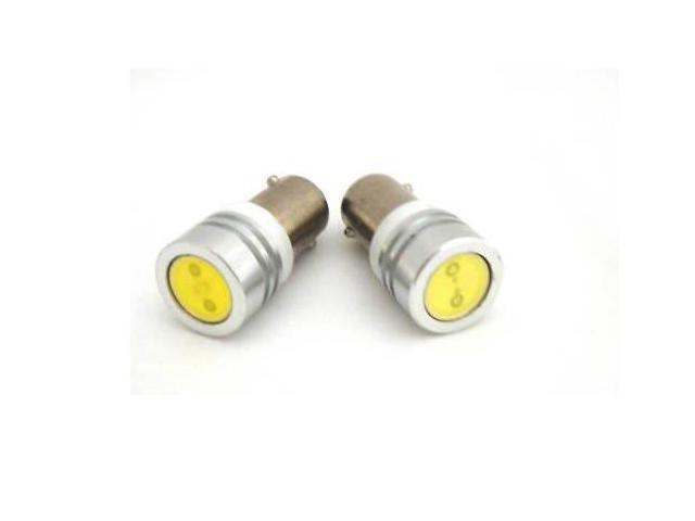 BA9/BA9s Bayonet Amber LED Bulbs