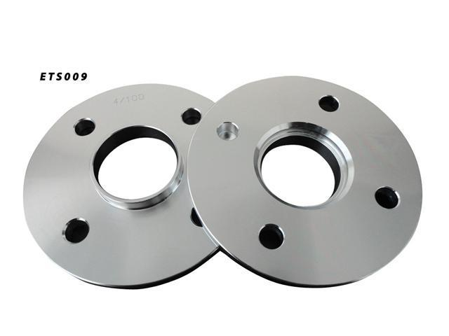 Aluminum Wheel Spacers 4x100 54.1 10mm Adapter Pair