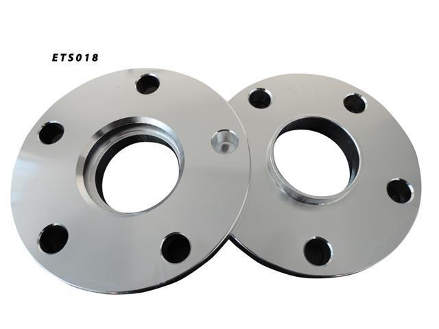 5x112 57.1 15mm Aluminum Wheel Spacers Adapter Pair