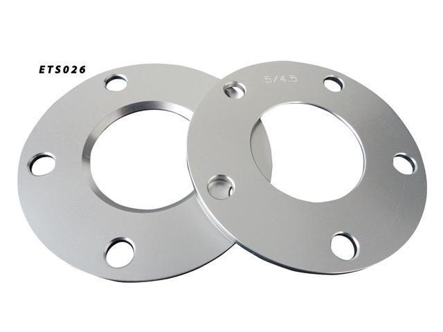 Aluminum Wheel Spacers  5x114.3 66.2 5mm Adapter Pair