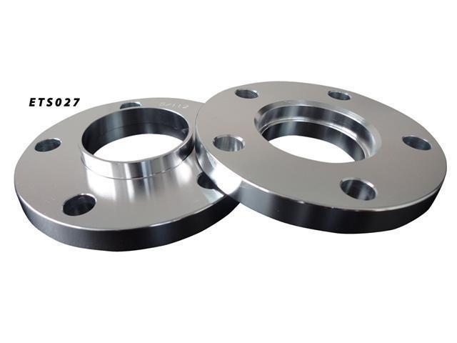 Aluminum Wheel Spacers 5x112 66.5 15mm Adapter Pair
