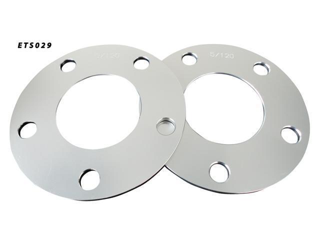 Aluminum Wheel Spacers Adapter Pair 5x120 72.6 72.5 5mm