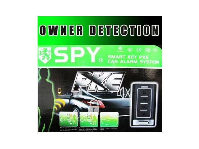 Car Alarm System with Owner Detection (SPY-LA3)