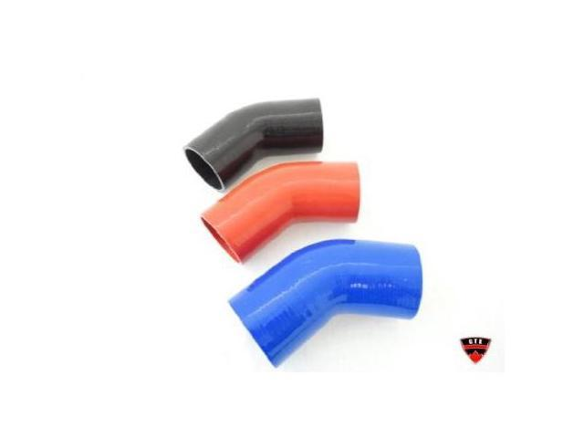 """2.5-2.5"""" inch Black Silicone Hose 45 Degree Coupler 64mm Elbow Silicon Coupling"""