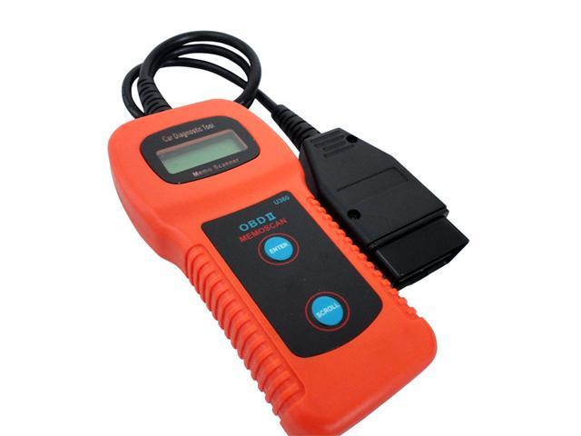 U380 OBDII CAN-BUS Car Diagnostic Check Engine Auto Scanner Trouble Code Reader