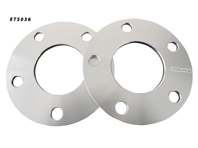 5x120 72.5 5mm Aluminum Wheel Spacers Adapter Pair (ET036)