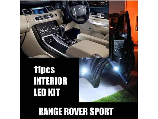 Land Range Rover Sport 2006-2012 WHITE 11pc LED Interior Kit