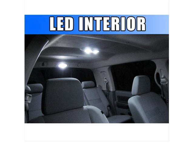 Bright WHITE 9pc LED Lights Interior Package for GMC Envoy 2002-2009