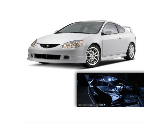 6pcs WHITE LED Lights Interior Kit for Acura RSX 2002-2006