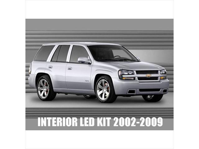 Chevy Trailblazer 2002-2009 High performance LED Interior Kit White Color 12pcs