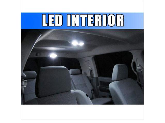 5pcs Bright White LED Interior Kit Package Dodge Charger 2006-2010