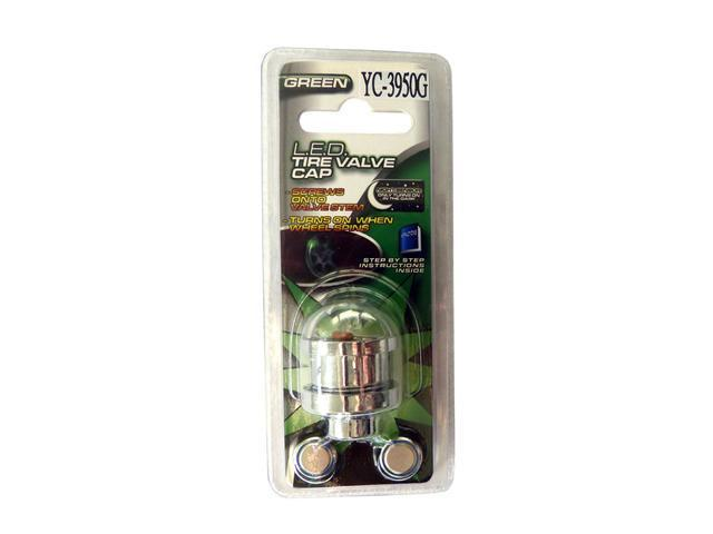 LED Tire / Wheel Lights Green