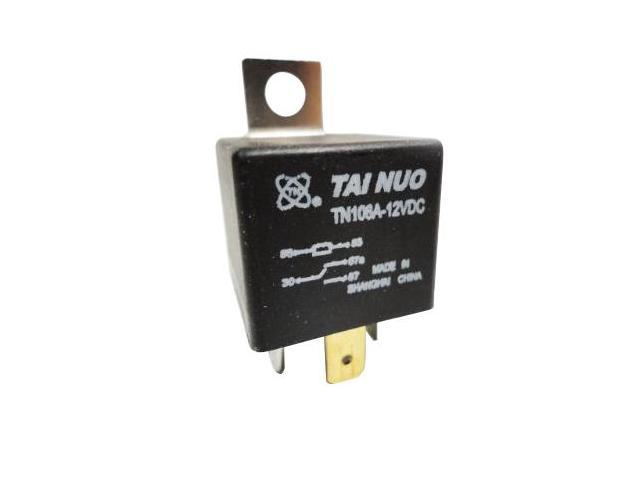 12 Volt 4 Pin SPDT Automotive Relay 30A/40A NO 12V (40-AMP) (Pack of 2)